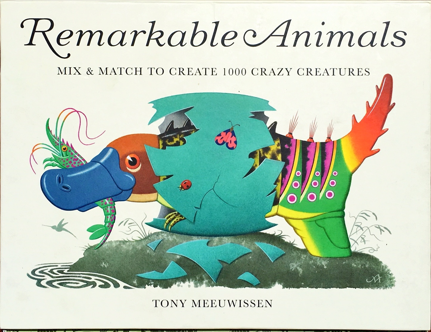 """Remarkable animals"" book cover"