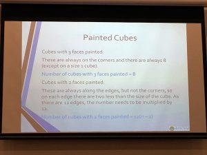 algebra slide