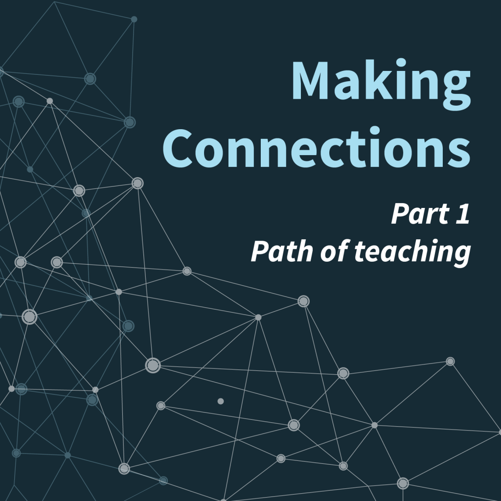 Webinar icon - Making Connections Part 1: Path of teaching